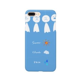 天気予報 Smartphone cases