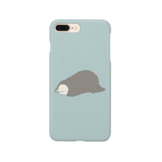 毛布とシロクマ Smartphone cases