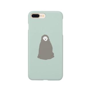 毛布とシロクマ2 Smartphone cases