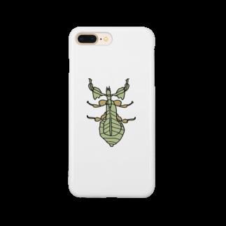 MOBのコノハムシ Smartphone cases