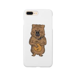 cowardly bear  Smartphone cases