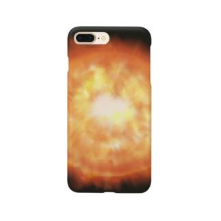 夏のどんぶり(ドンブリ) ブラザーズ【ドンブラ】の太陽 Smartphone cases