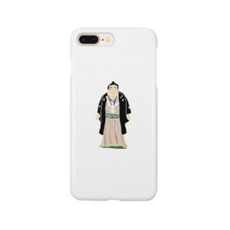帖佐人形 力士 Smartphone cases
