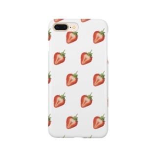 #44 「ベリーストロベリー」~吉見町~ Smartphone cases