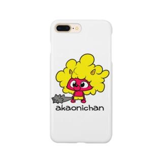 あかおにちゃん Smartphone cases