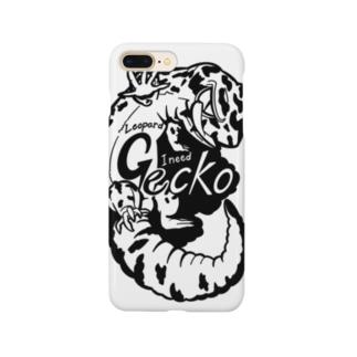 レオパードゲッコーくん(nnnゲッコーズ) Smartphone cases