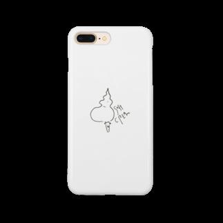 おいしい魚ちゃんの美味しいソフトクリームちゃん Smartphone cases