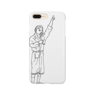 バスローブ Smartphone cases