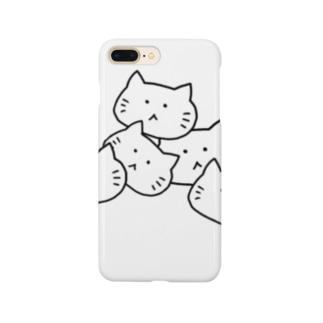 コロコロねこさん Smartphone cases
