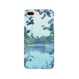 静かな水辺 Smartphone cases