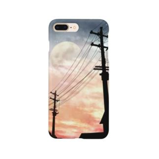 夕陽の帰り道 Smartphone cases