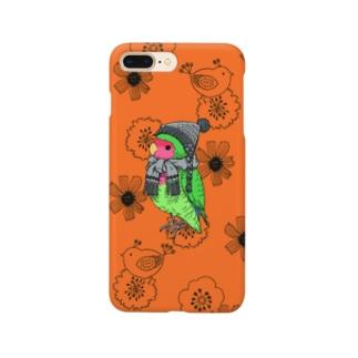秋オレンジ Smartphone cases