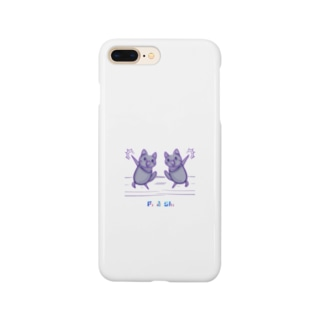 2年越し和解コラボ(サイズやらかしたVer.) Smartphone cases