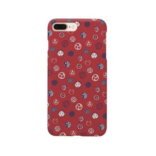 【日本レトロ#24】おはじき Smartphone cases