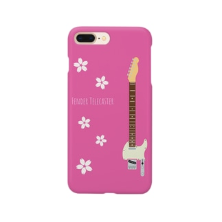 テレキャス 桜 Smartphone cases