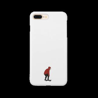 秦透哉のスケーター君 Smartphone cases