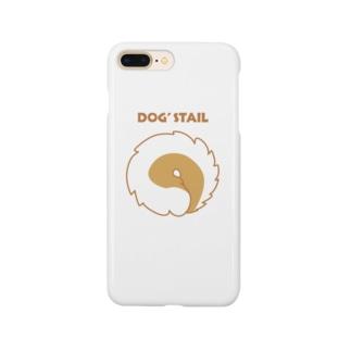 犬のしっぽ1 Smartphone cases
