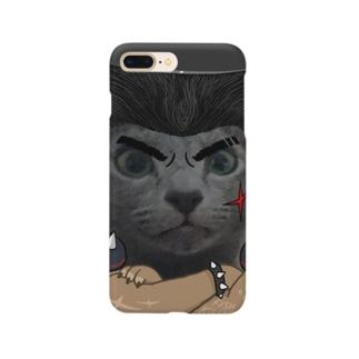 ぎんざまゆげ Smartphone cases