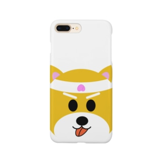 ちょっと鬼ヶ島に(柴犬くん) Smartphone cases