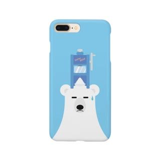 雪くま Smartphone cases