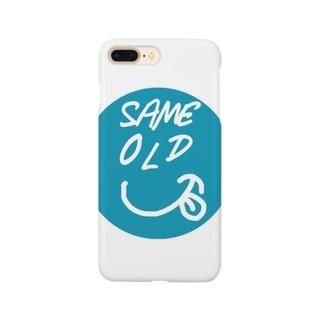 セイムオールドくん Smartphone cases