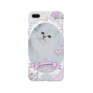 ねこのあんにんMermaid♡ Smartphone cases