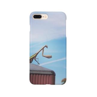 かまかまカマキリ Smartphone cases
