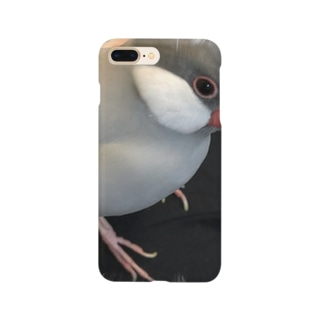 文鳥スポット Smartphone cases