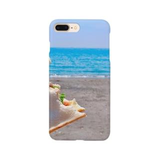 うみでぱん Smartphone cases