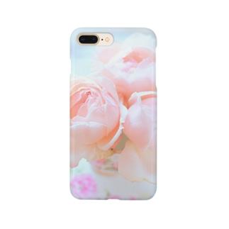 豊かな暮らし♡ロマンチックローズ Smartphone cases