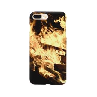 燃えろ炎 Smartphone cases