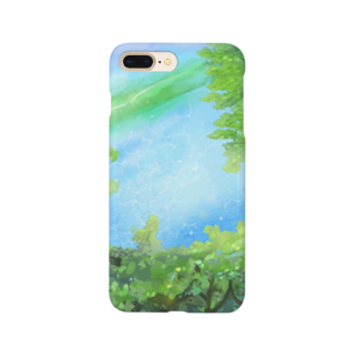 Yellow Striped eel   【きいろしまえなが。】のNATURAL.G Smartphone cases