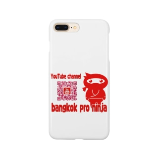 QRコード(バンコクのプロ忍者) Smartphone cases