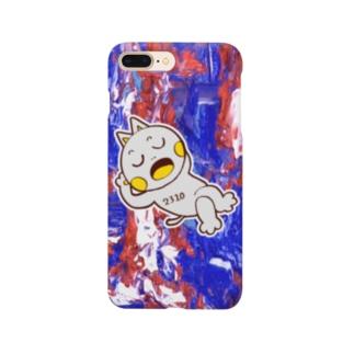 ダサめのねむネコ Smartphone cases