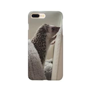 ハリモグラ君 Smartphone cases
