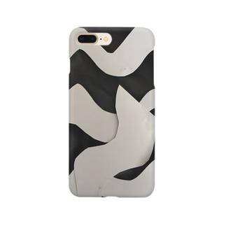 うねうねくん Smartphone cases