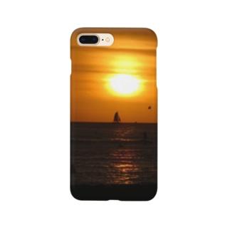 ハワイ ワイキキ サンセットビーチ Smartphone cases