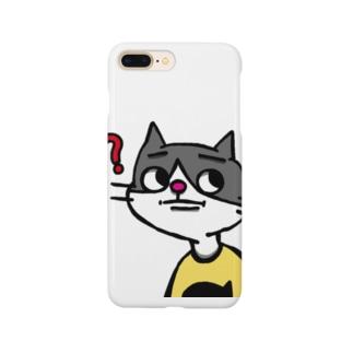 義兄弟、猫太郎と犬二 Smartphone cases