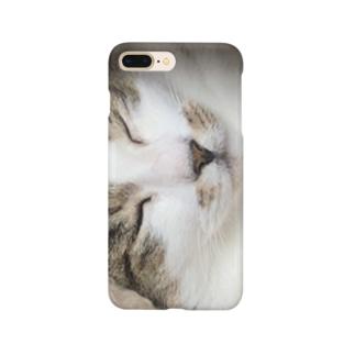 耳なし猫 Smartphone cases
