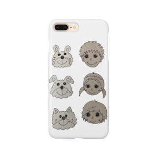 お絵かきシリーズ Smartphone cases