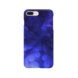 タコの吸盤 Smartphone cases