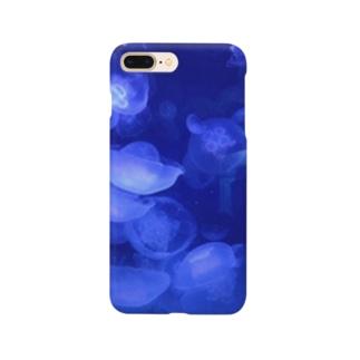海の生き物/Water jelly Smartphone cases