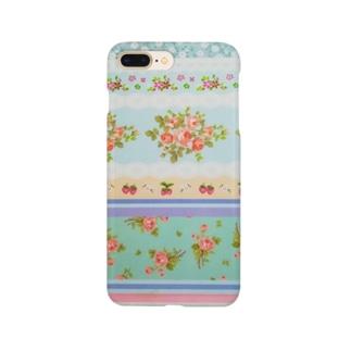 ストロベリーローズ Smartphone cases