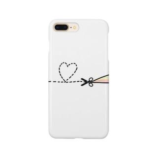 心の扉 Smartphone cases