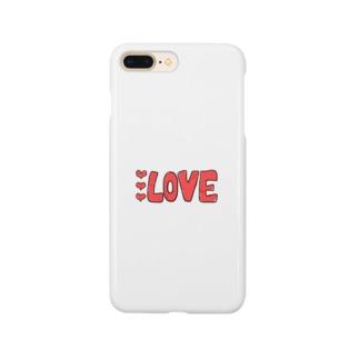 ラブラブラブlove Smartphone cases