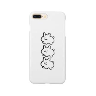 う3連続 Smartphone cases