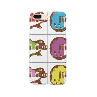 ギター ポップアート Smartphone cases