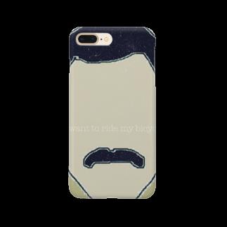 osmの自転車大好きフレディ君 Smartphone cases