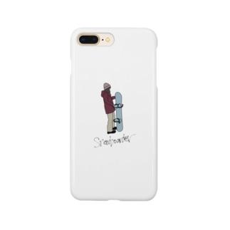 Snowboarder Smartphone cases