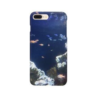 海の世界 Smartphone cases
